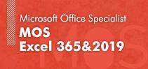 MOS Excel 365&2019